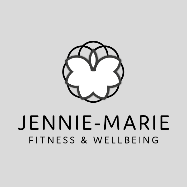 Jennie-Marie logo, fitness and wellness in Whitby